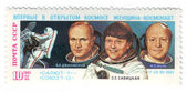 žena astronaut, poštovné, sssr — Stock fotografie