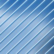 Stock Photo: Parallel diagonal lines