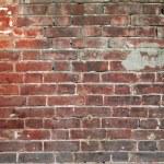 Wall from old bricks — Stock Photo