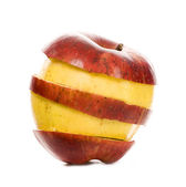 Slices of apples — Stock Photo