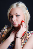 Beauty blondie — Stockfoto