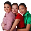 Three happy friends — Stock Photo #2575549