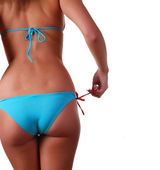 Female body in swimwear — Stock Photo