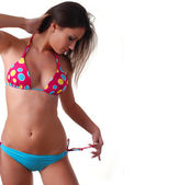 Woman in swimwear — Stock Photo