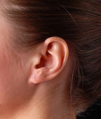 Female ear — Stock Photo