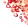 Royalty-Free Stock Photo: Valentine hearts background