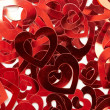 Valentine hearts background — Stock Photo #1822139