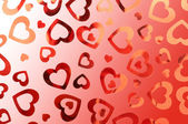 Valentine hearts background — Photo