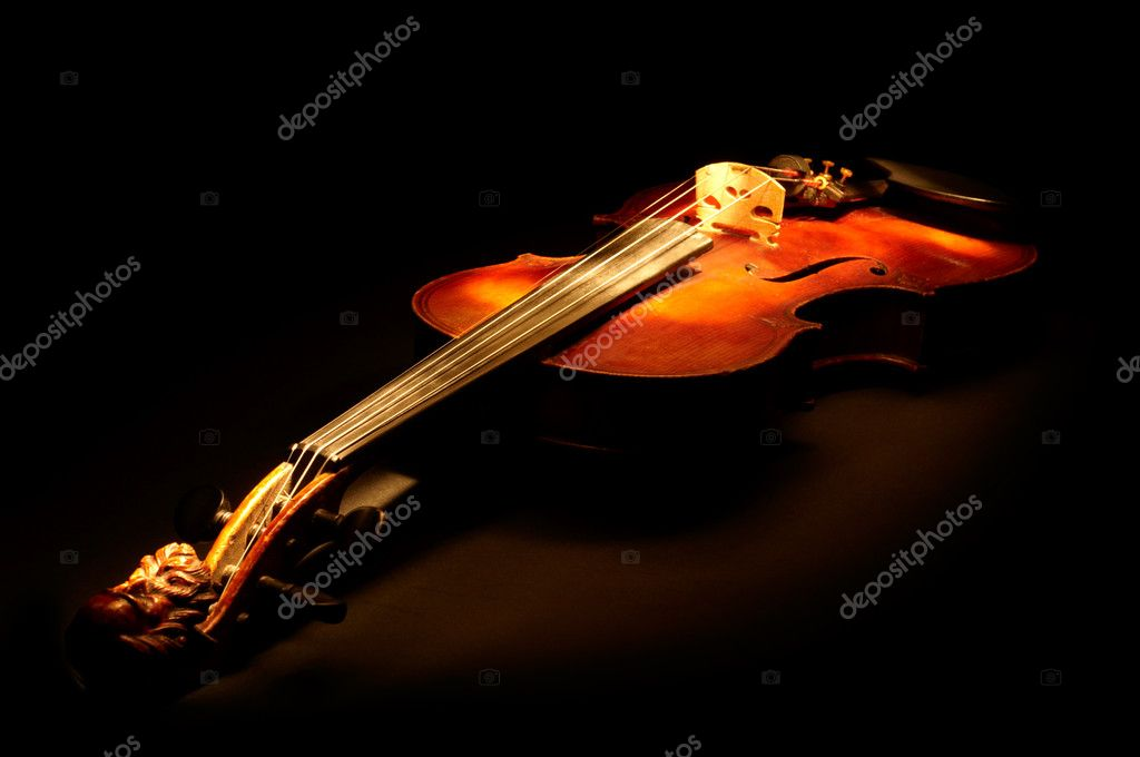 Vintage violin — Stock Photo #1821449