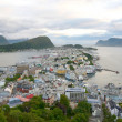 Alesund panorama. Norway — Stock Photo