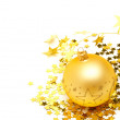 Christmas balls and decorations — Stockfoto