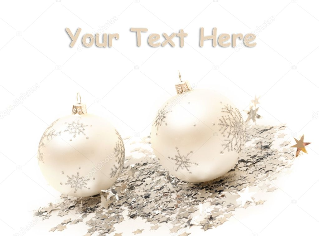 Christmas balls and decorations   Stock Photo #1943399