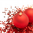 Christmas balls and decorations — Stock Photo #1996047