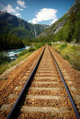 Demiryolu dağları — Stok fotoğraf