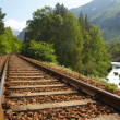 Railway in the mountains — Stock Photo #2194812