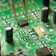 Royalty-Free Stock Photo: Assembling a circuit board