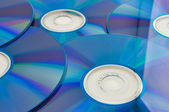 Dvd or cd disks — Stock Photo
