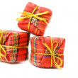 Little red gift — Stock Photo
