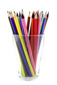 Thick colored pencils — Stock Photo