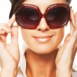 Royalty-Free Stock Photo: Woman wearing sunglasses