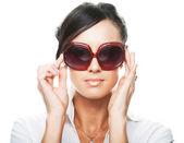 Woman wearing sunglasses — Stock Photo