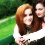 Girl-friends — Stock Photo