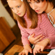 Mother and daugther — Stock Photo