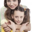 Mother and her little daughter — Stock Photo
