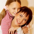 Mother and her daughter - Foto de Stock