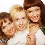 Happy teen girls — Stock Photo