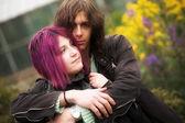 Lindo casal — Fotografia Stock