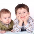 Two boys- brothers — Stock Photo