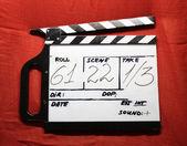 Cinema clapper — Stock Photo