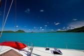 Catamarn in Tropical Sea — Stock Photo