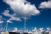 Luxury Boats — Stock Photo