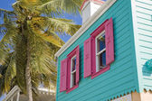 Home in tortola — Stock Photo