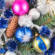 Christmas ornaments - Stock Photo