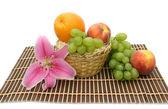 Lily en fruit — Stockfoto