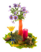 Bouquet of colors in Christmas — Stock Photo