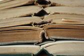 Geopende boeken — Stockfoto
