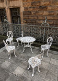 Baroque chairs — Stock Photo