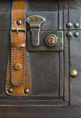 Detail of the treasure chest — Stock Photo