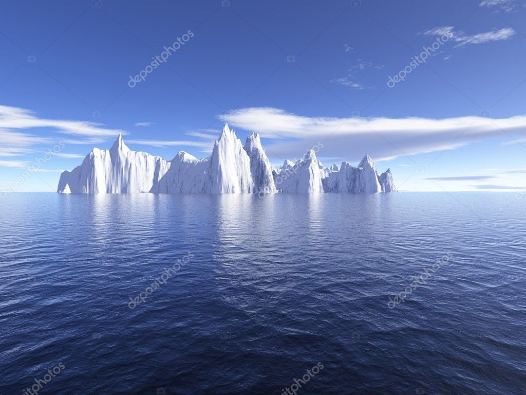 Iceberg in the sea  Stock Photo #1725108