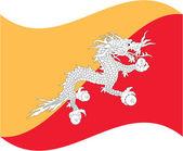 Bhutan — Stock Vector
