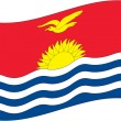 Kiribati - Stock Vector