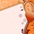 Royalty-Free Stock Imagem Vetorial: Heart Valentine Card