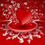 творческий день Святого Валентина карты — Cтоковый вектор
