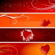 Valentine banners — Stock Vector #1776636