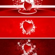 Valentine banners — Stock Vector #1776652