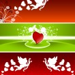 Valentine banners — Stock Vector #1776660